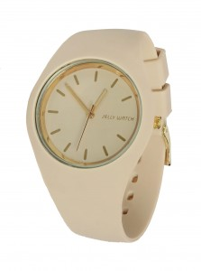 Jelly Watch Classic Gold